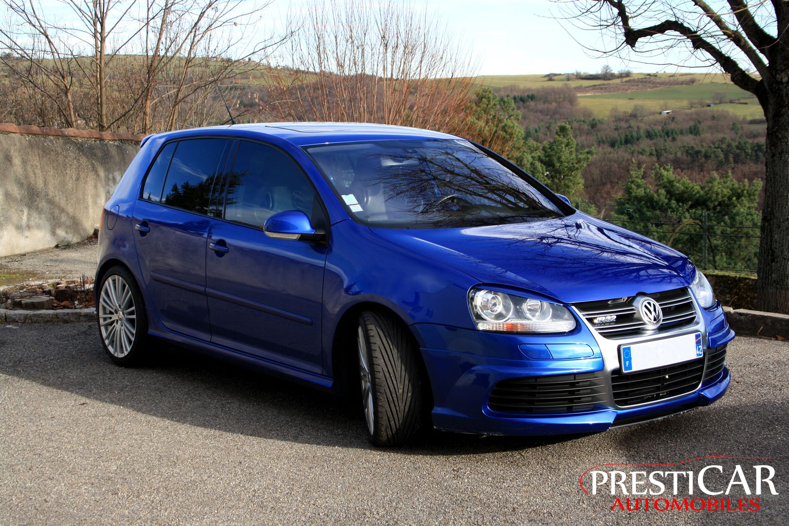 Vw golf v r32 3 2 v6 dsg 250 ch presticar automobiles for Golf 5 interieur 2008