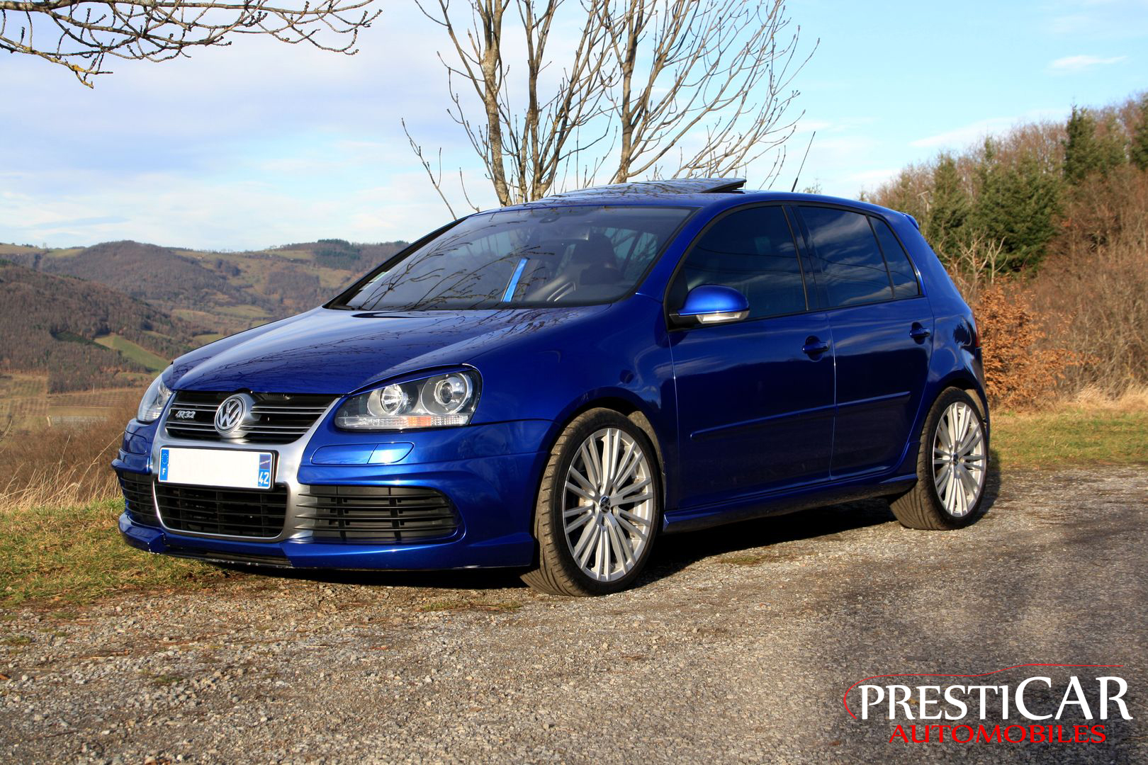 vw golf v r32 3 2 v6 dsg 250 ch presticar automobiles. Black Bedroom Furniture Sets. Home Design Ideas