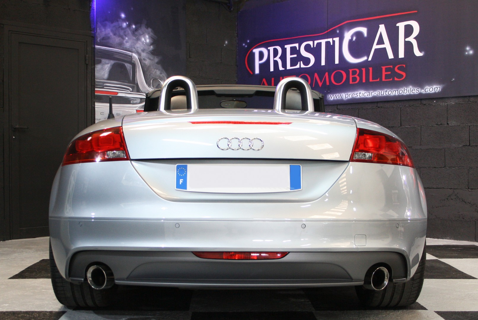 audi tt 1 8 tfsi 160ch sline presticar automobiles. Black Bedroom Furniture Sets. Home Design Ideas