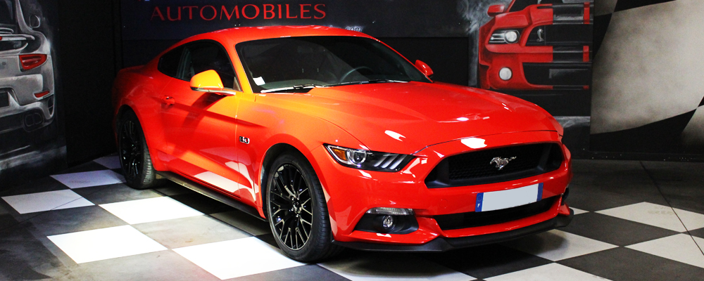 Slid Mustang