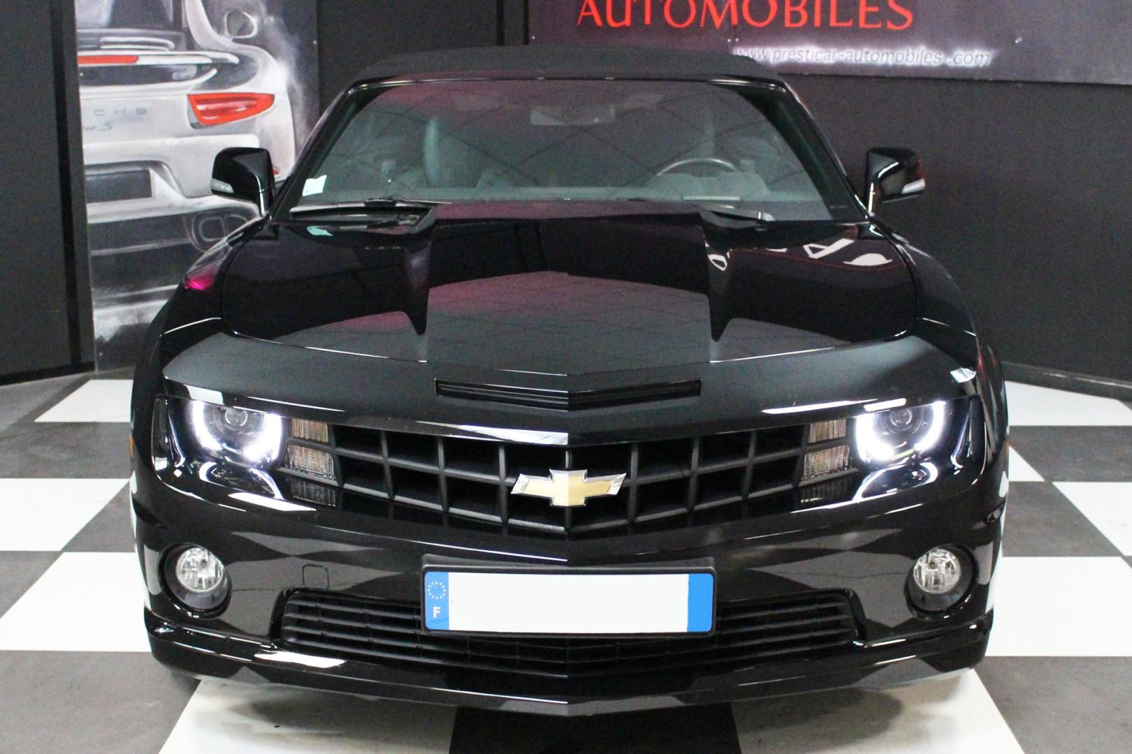 chevrolet camaro 6 2 v8 432ch cabriolet presticar automobiles. Black Bedroom Furniture Sets. Home Design Ideas