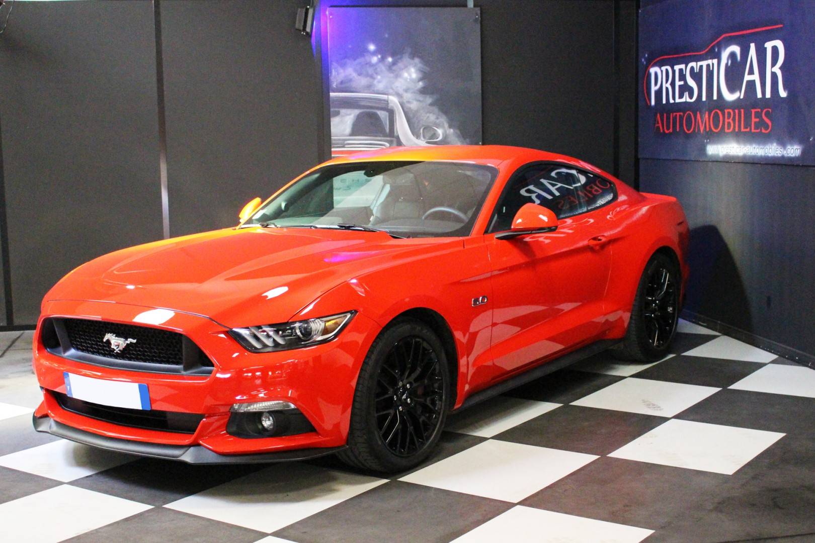 ford mustang gt fastback 5 0 v8 421ch presticar automobiles