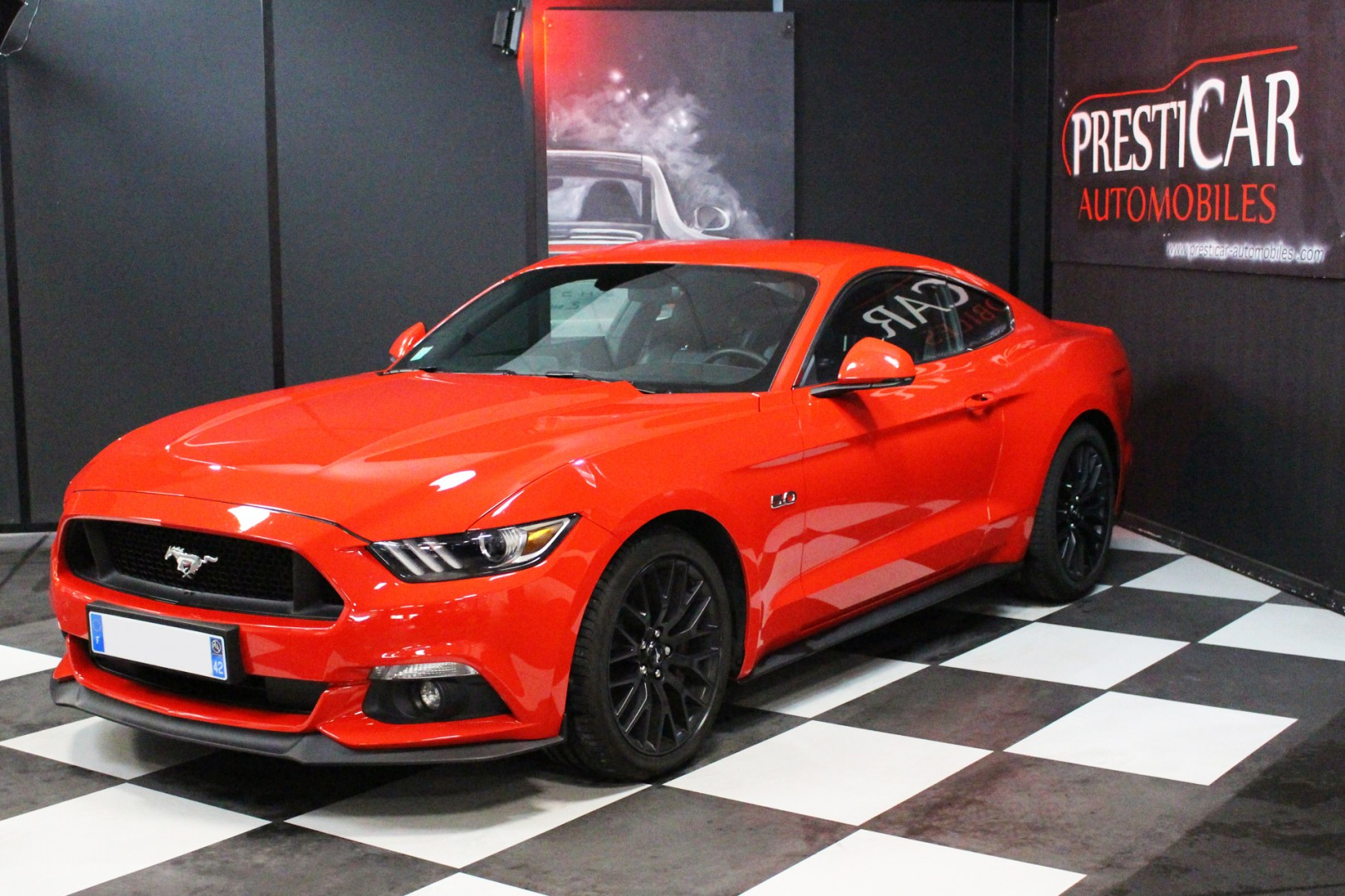 ford mustang gt fastback 5 0 v8 421ch pack premium