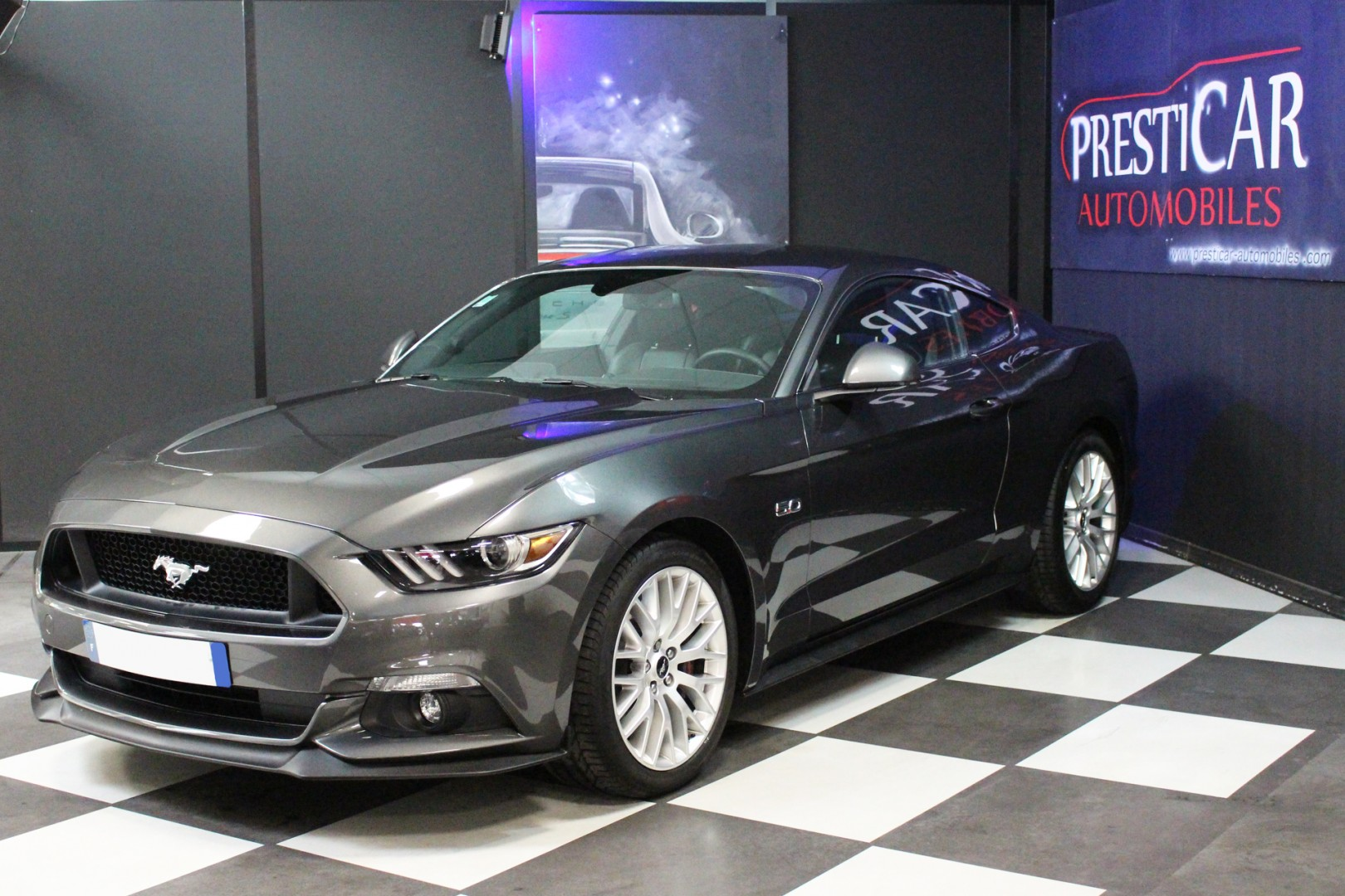 2017 Ford Mustang Gt Premium >> FORD Mustang GT Fastback 5.0 V8 421Ch BVM - Presticar Automobiles