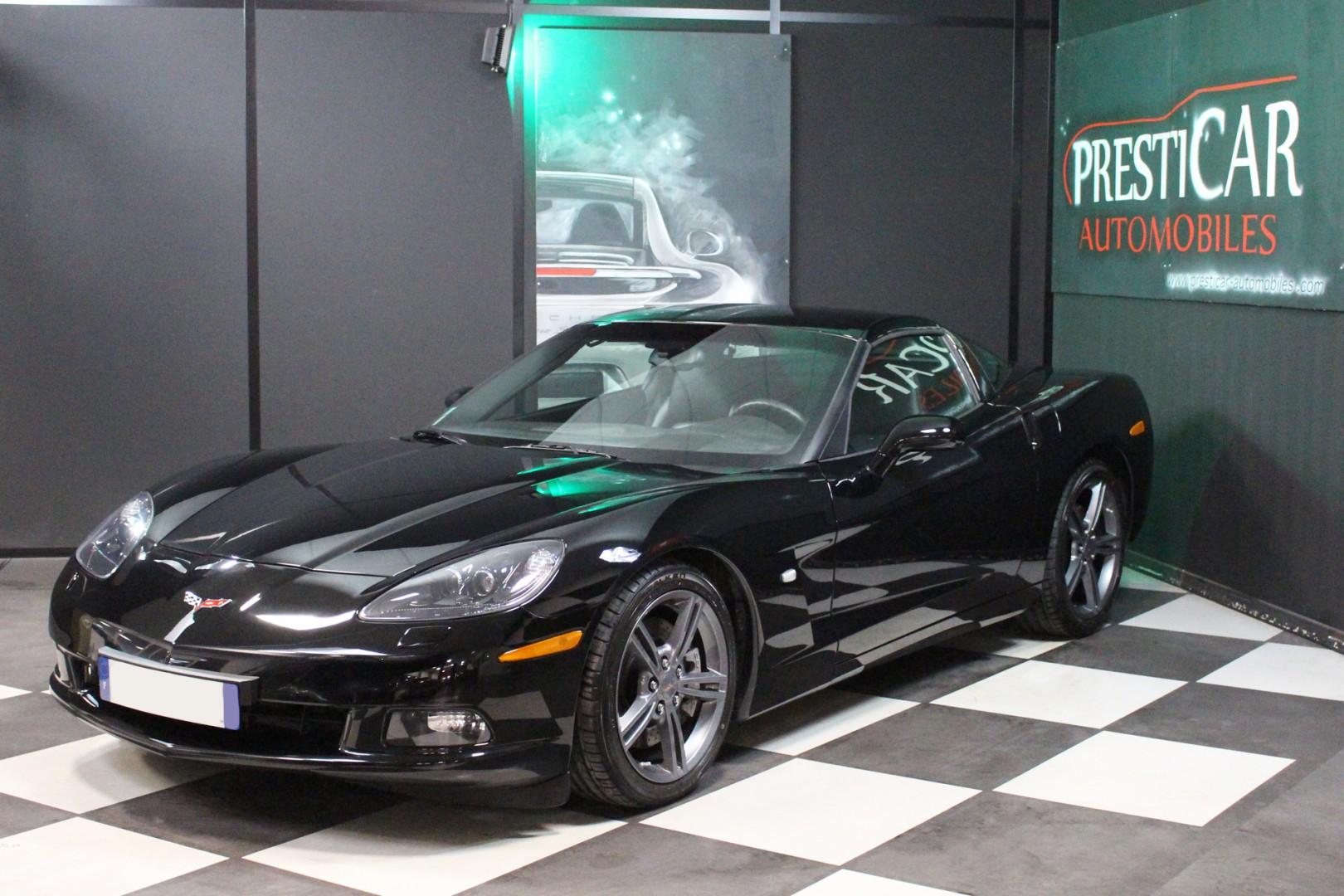 corvette c6 6 2 v8 ls3 437 ch bvm presticar automobiles. Black Bedroom Furniture Sets. Home Design Ideas