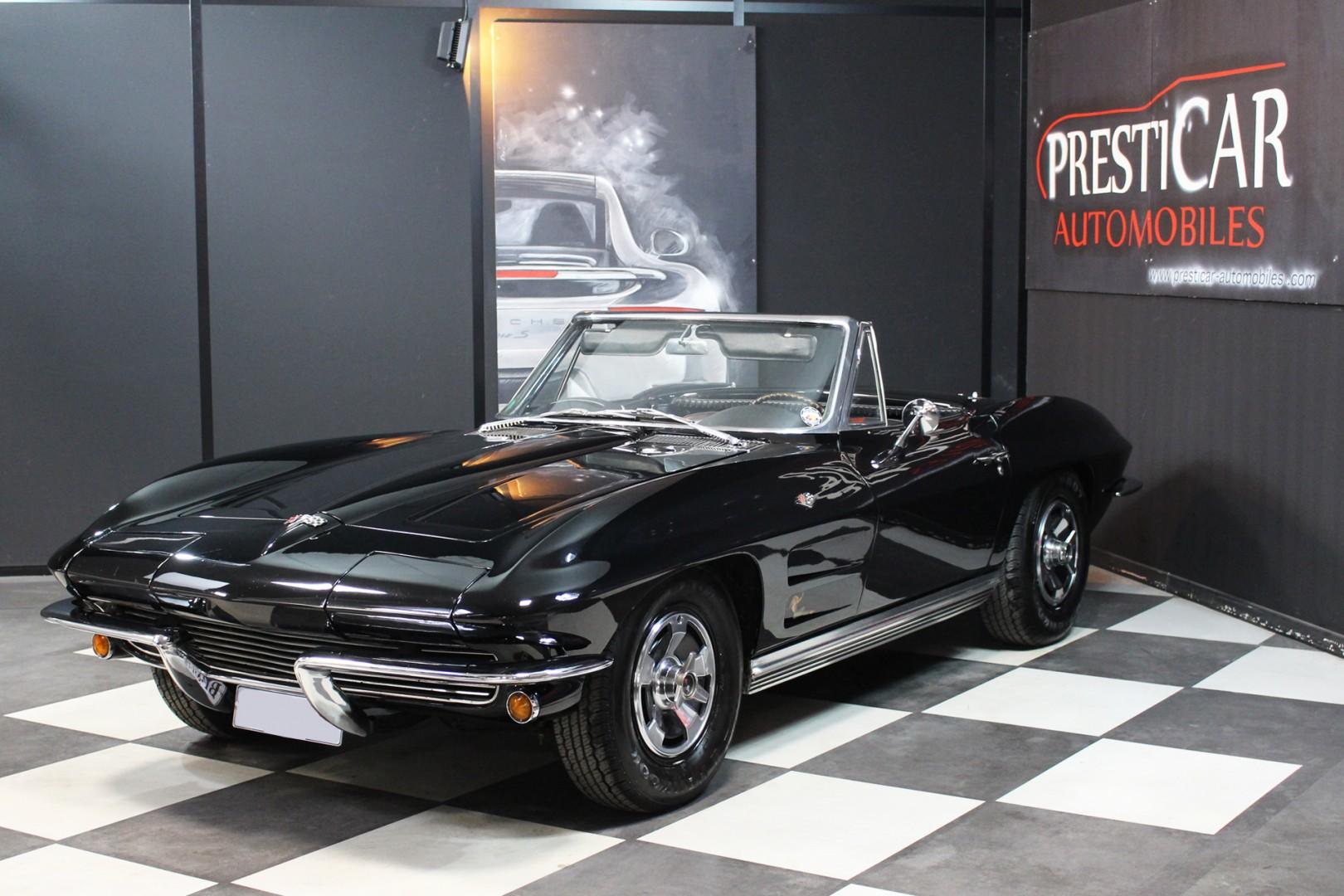 corvette c2 v8 327ci 300 ch bvm4 1964 presticar automobiles. Black Bedroom Furniture Sets. Home Design Ideas